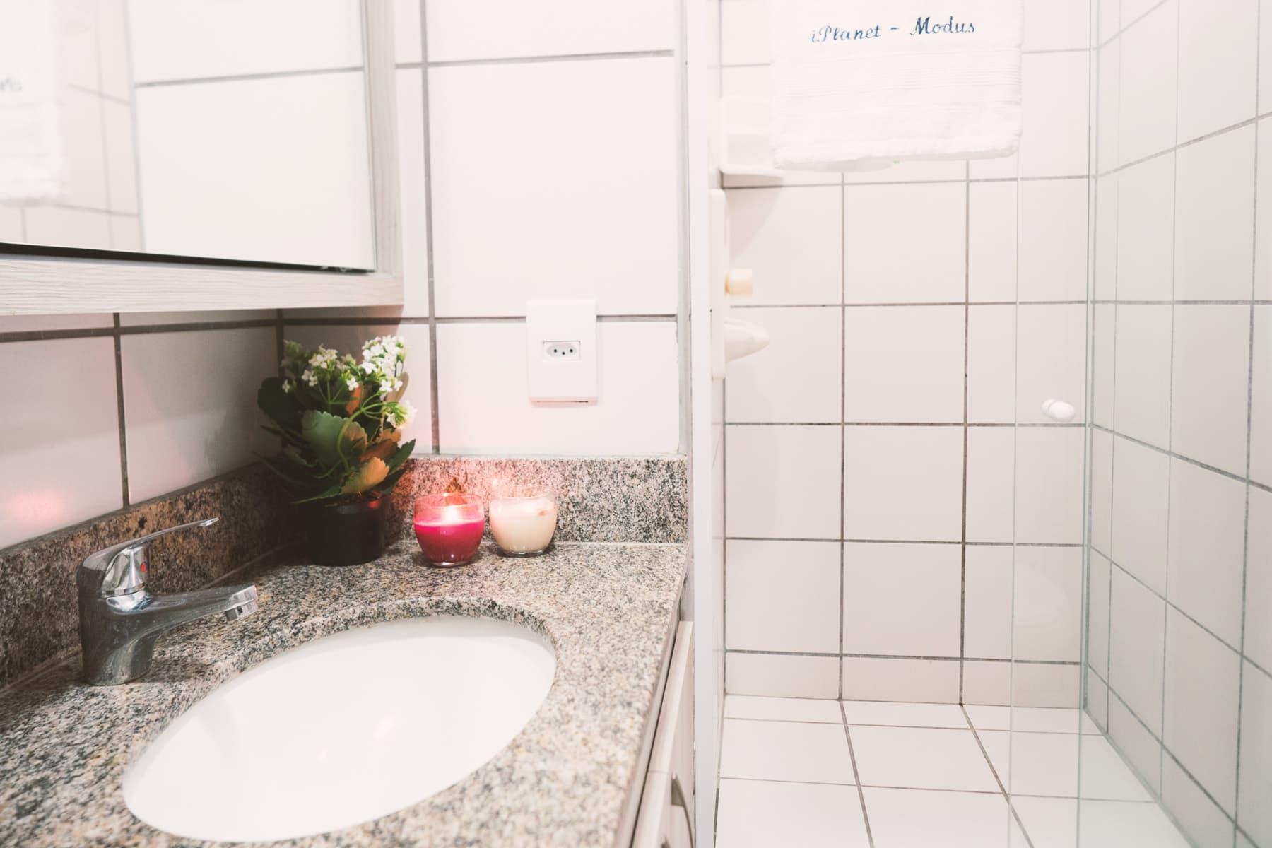 Bagno Appartamenti Porto De Iracema Fortaleza