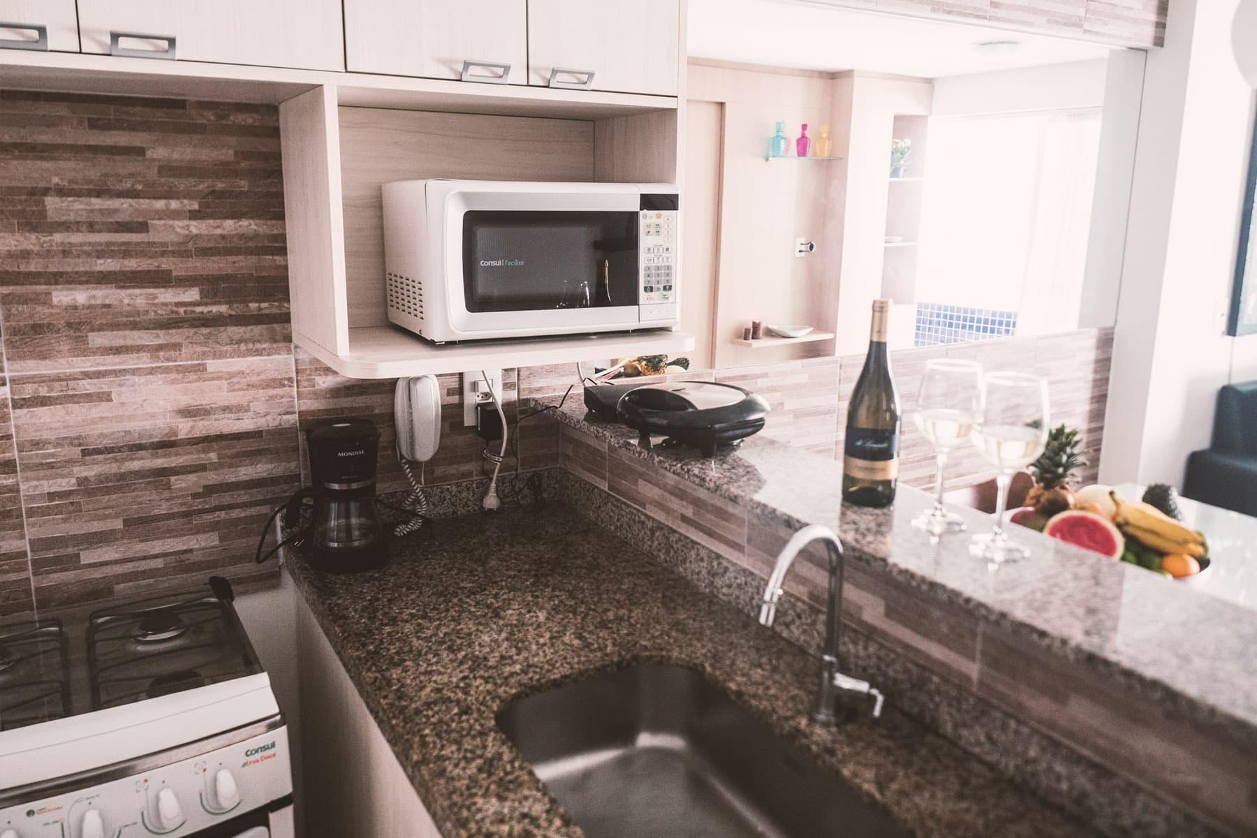 Cucina - Appartamento Beach Class - Fortaleza - Brasile