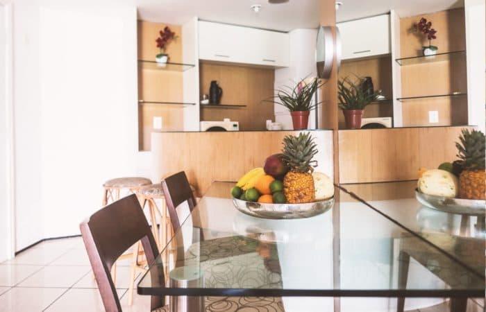 Cucina Appartamento Golden Tulip Fortaleza
