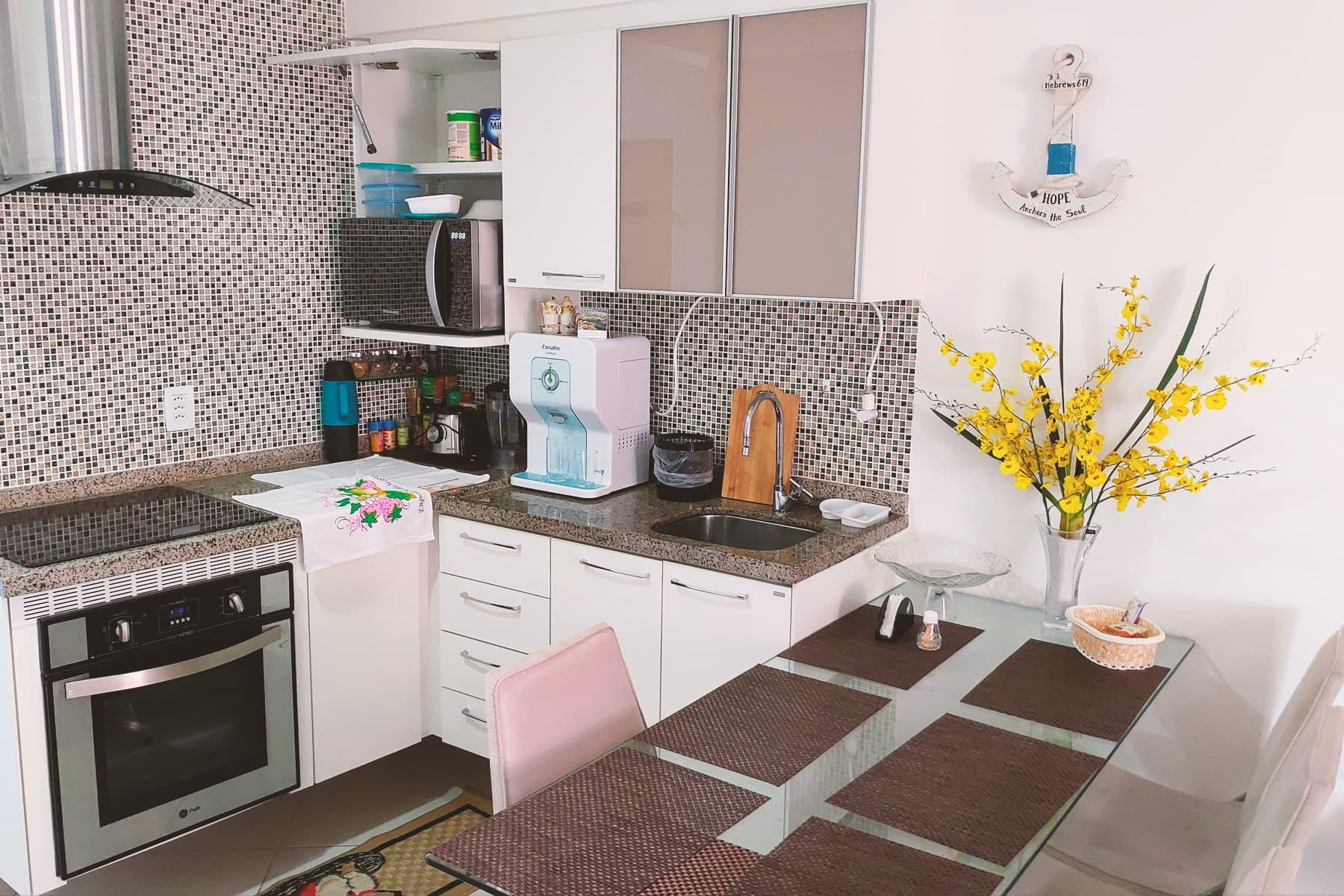 Cucina Appartamento Landscape Gold Fortaleza