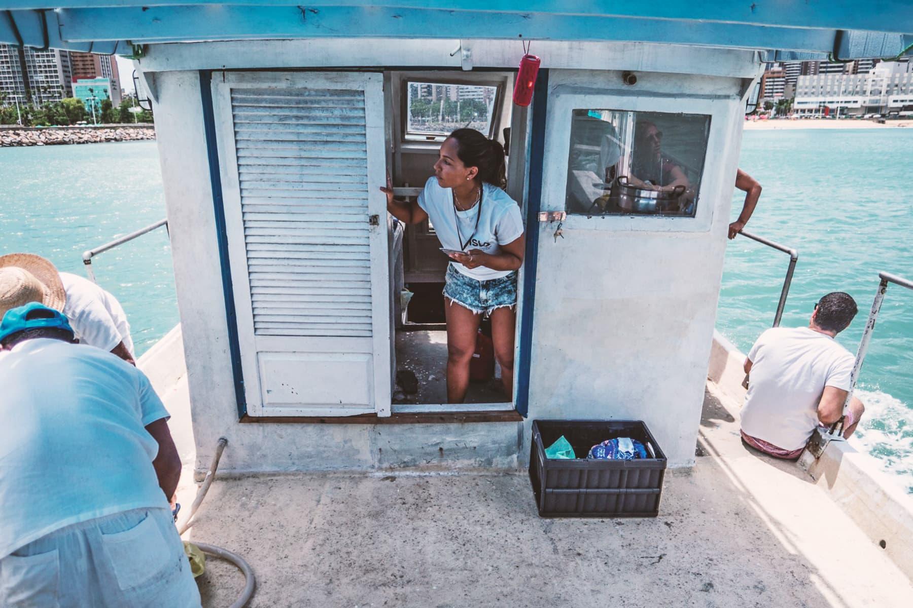 Escursione in Barca a Fortaleza - Brasile