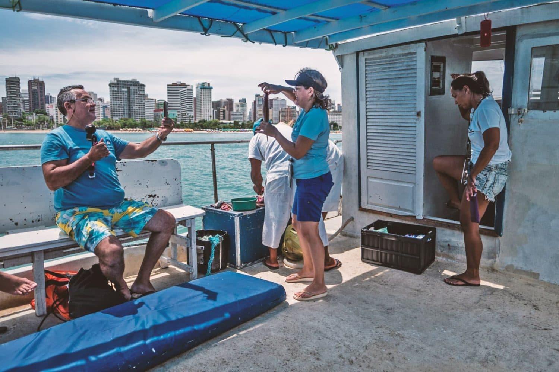Giro in barca per Fortaleza - Brasile