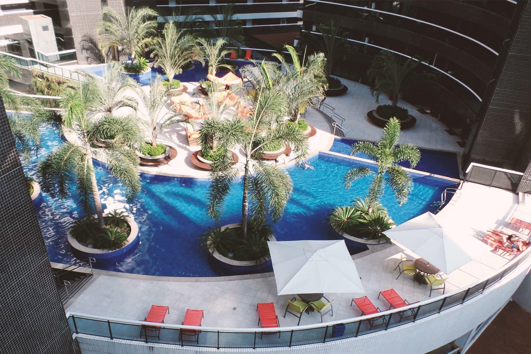 Piscina Appartamenti Landscape Fortaleza