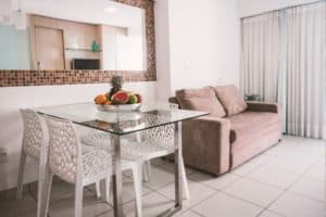Sala - Appartamento Beach Class - Fortaleza - Brasile