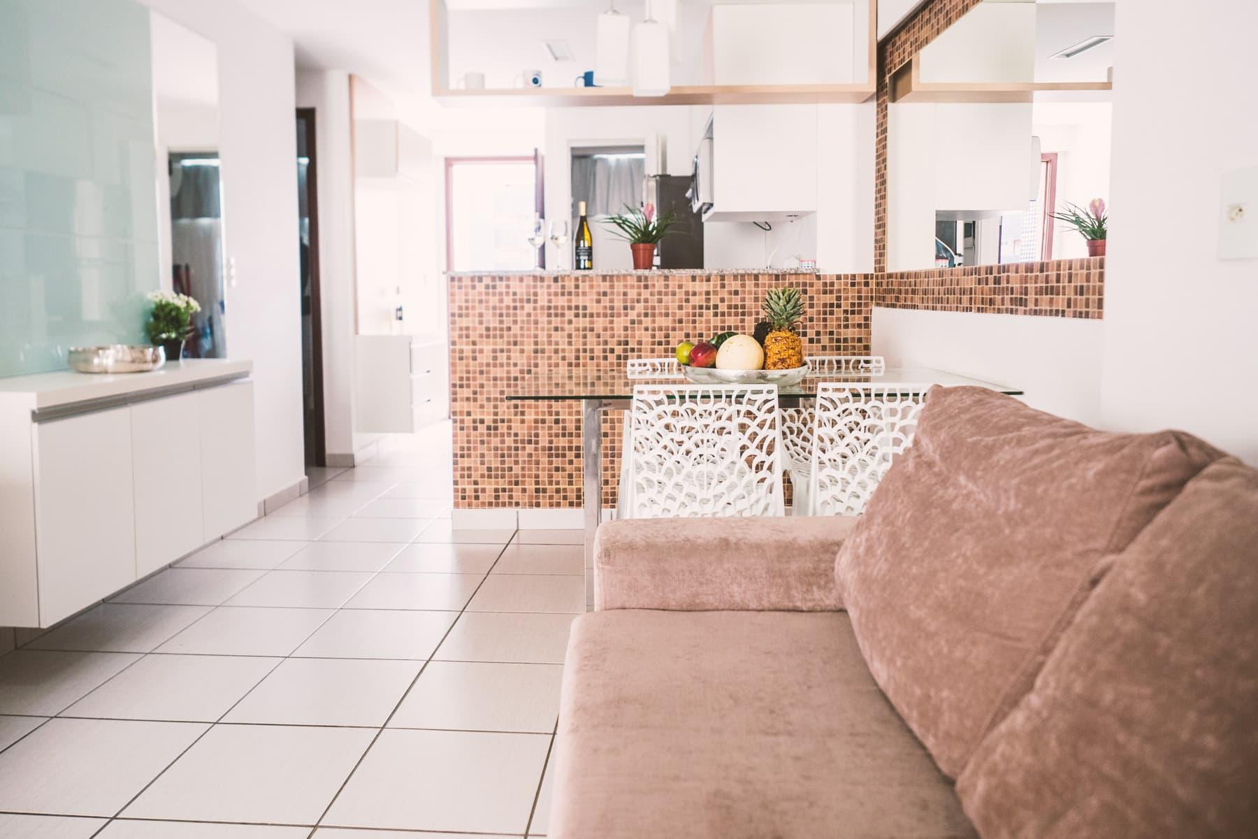 Sala e Cucina - Appartamento Beach Class - Fortaleza - Brasile