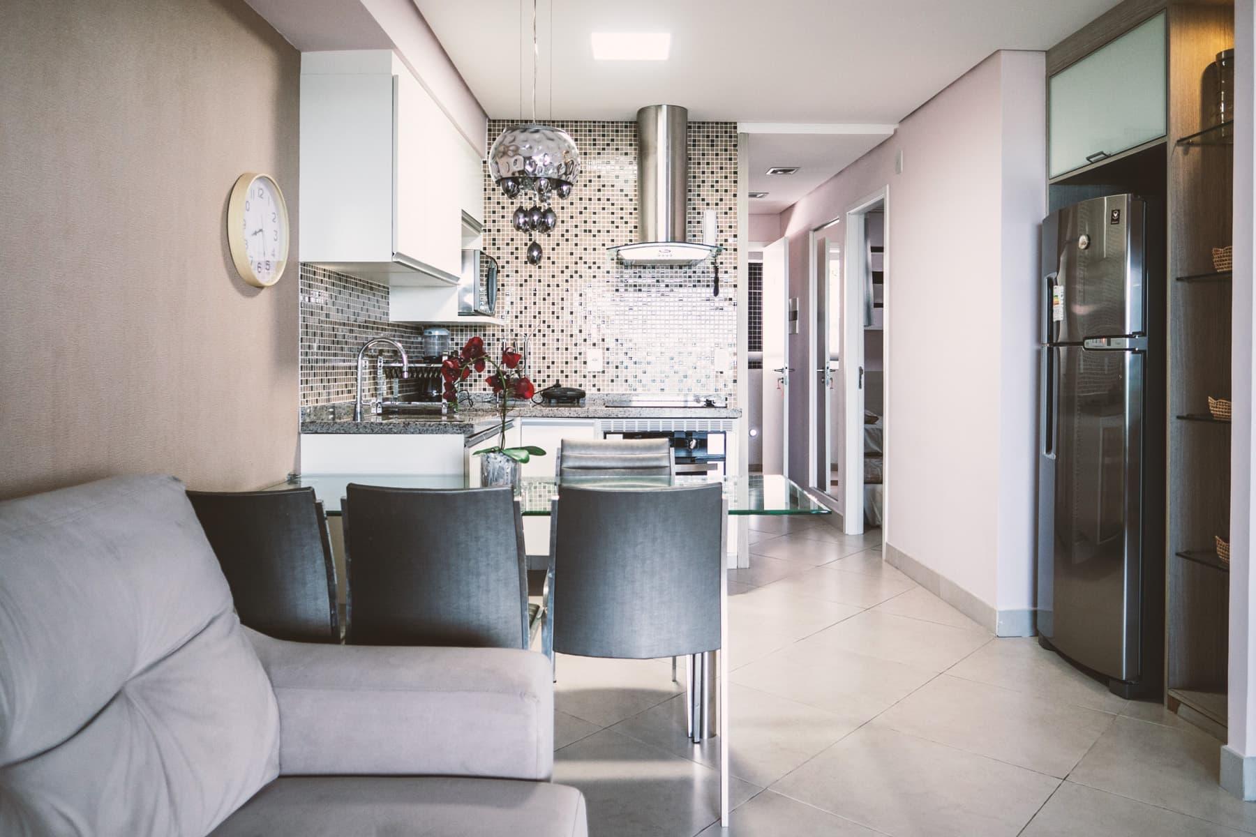 Sala e Cucina Appartamento Landscape Platinum Fortaleza