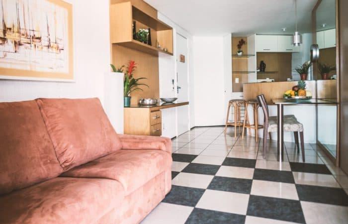 Soggiorno Appartamento Golden Tulip Fortaleza