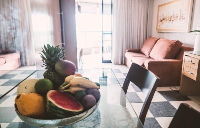 Soggiorno Appartamento Golden Tulip Fortaleza Brasile