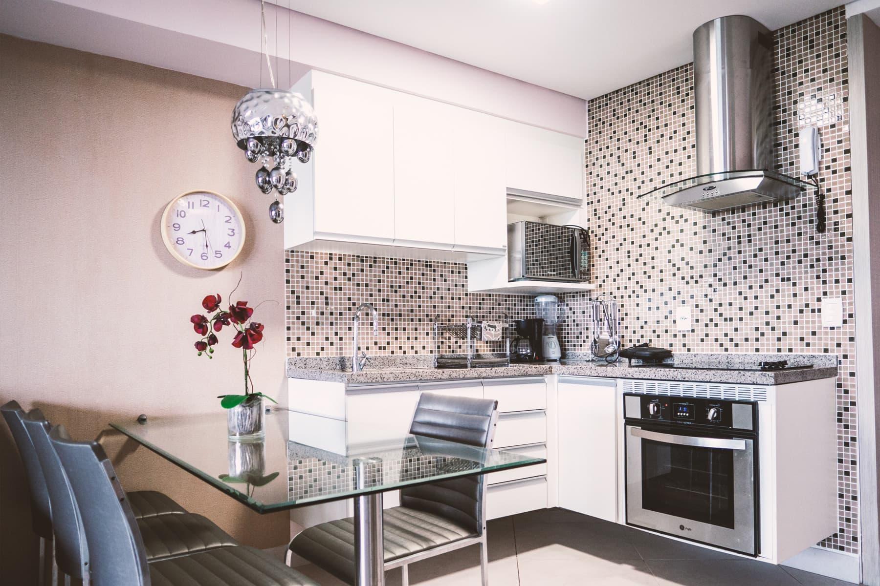 Tavolo e Cucina Appartamento Landscape Platinum Fortaleza