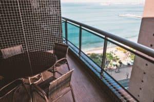 Veranda con Vista Mare Appartamenti Landscape Gold Fortaleza