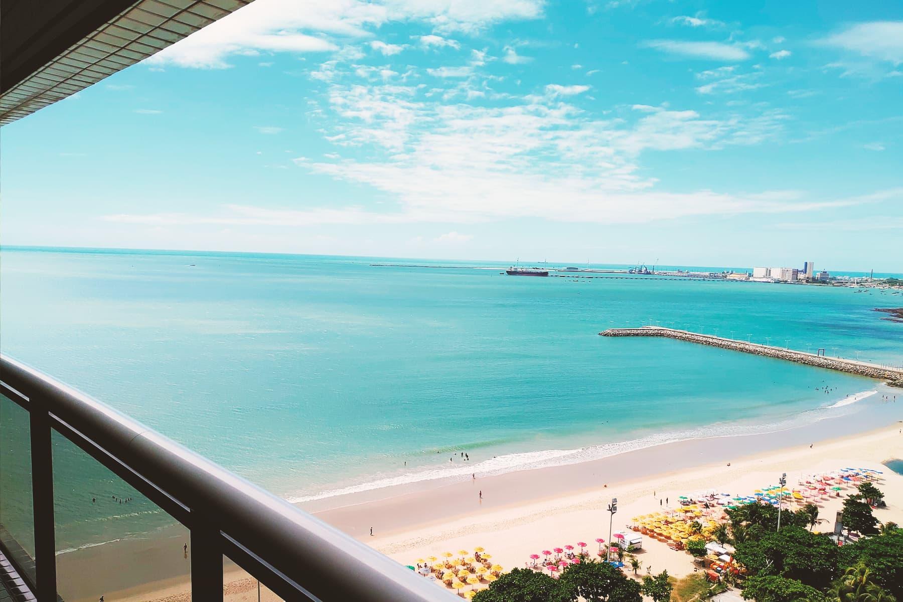Vista panoramica dall'Appartamento Landscape Gold Fortaleza
