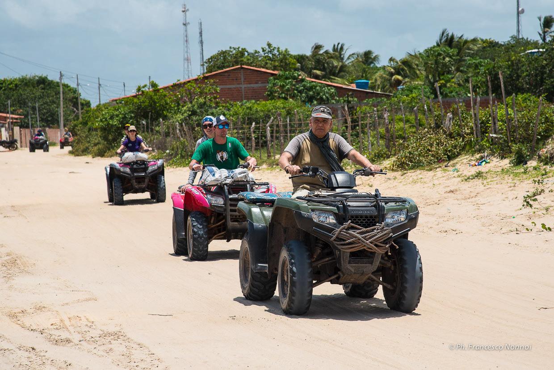 Lencois, quad, Brasile