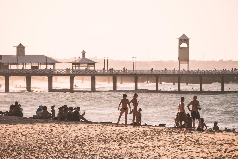 Ponte degli inglesi, Praia de Iracema, Fortaleza