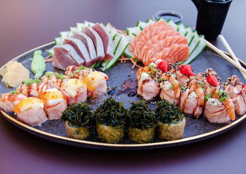 Fuji Sushi Lounge, ristorante sushi fusion, Fortaleza, Brasile
